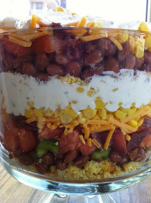 Recipe: Layered Mexican Salad