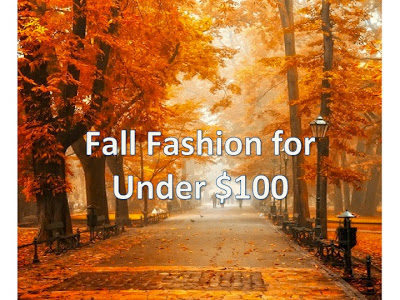 Fall Finds for Under $100