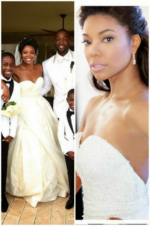 Union wedding dress 100 images gabrielle union dwyane wade s union wedding dress wedding wednesday the sarcastic union wedding dress gabrielle junglespirit Choice Image