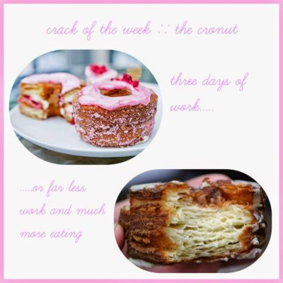 crack of the week :: the cronut