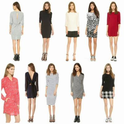 wishlist wednesday :: the long sleeve dress
