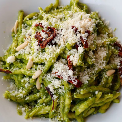 :: crack of the week : positano pesto ::