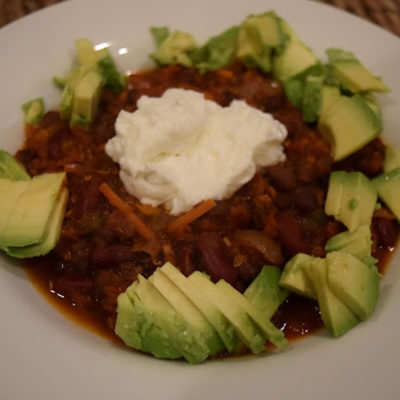 :: crack of the week : protein bar quinoa chili ::