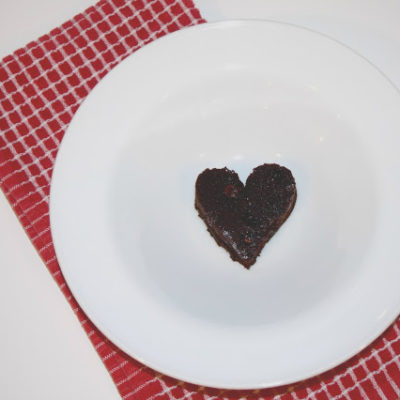:: Valentine's Day Dessert : Flourless Chocolate Brownies ::