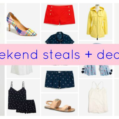 :: Weekend Steals + Deals ::