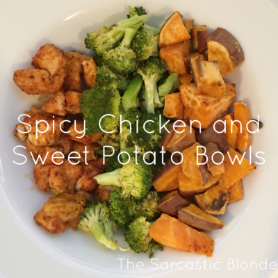 :: Spicy Chicken + Sweet Potato Bowls ::