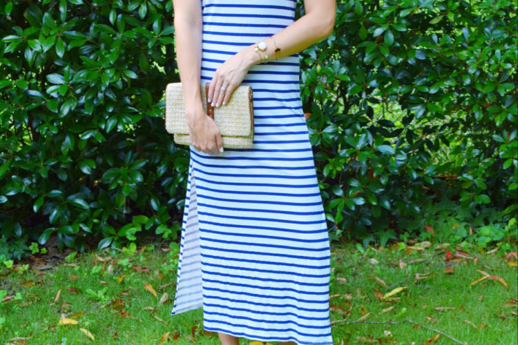 :: Striped Maxi + Friday Links + Vacation Bound ::