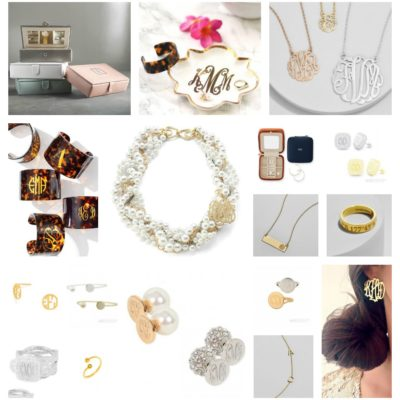 :: Gift Guide : Monogram Jewelry Lover ::